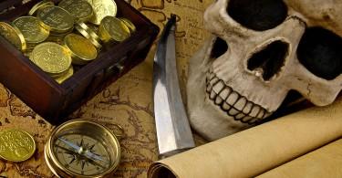 """Квест-рум """"Проклятие черной жемчужины"""" - это уникальный реалити-квест из серии «escape room», полностью стилизован под фильм """"Пираты Карибского моря""""."""