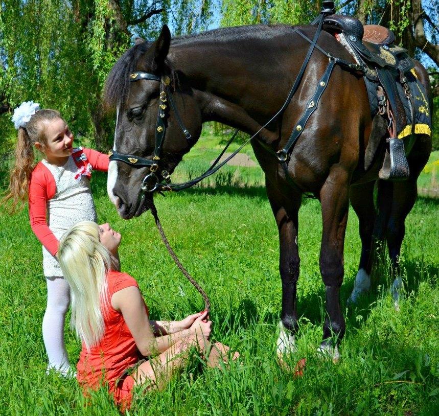 Конные прогулки, лошадки Кривой Рог